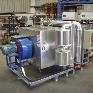 Recuperatori di calore IESI da biomasse