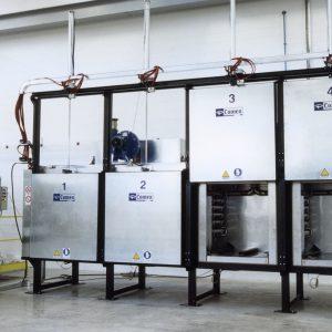 Impianti di essiccazione statici di anime di fonderia