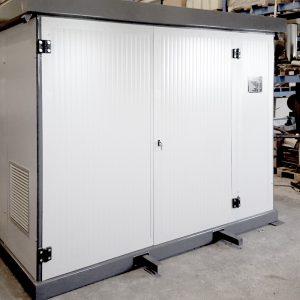 Assorbitore a bromuro di litio alimentato ad acqua calda, fornito in versione Package e torre evaporativa 08