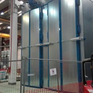 Nuovo impianto Forni – SETTORE COMPONENTISTICA ELETTRICA